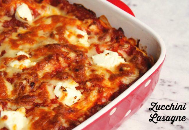 Meatless Monday: Zucchini Lasagne