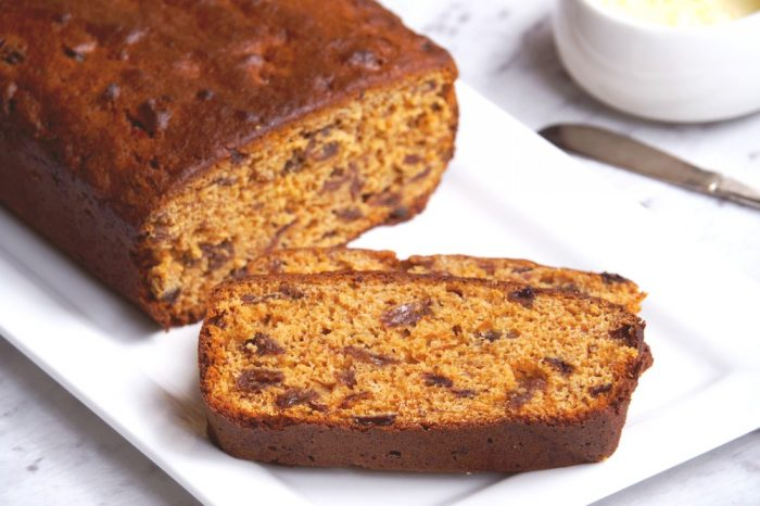 Easy Orange Tea Bread 4