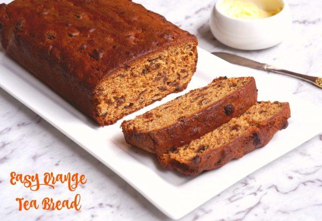 Easy Orange Tea Bread