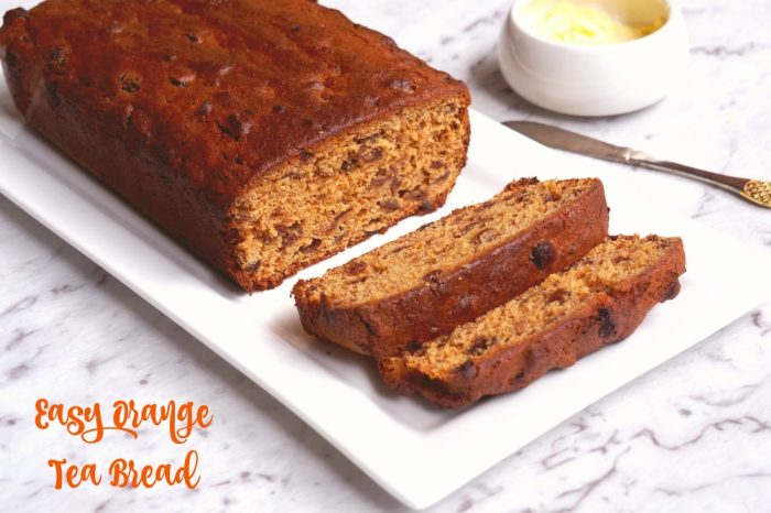 Easy Orange Tea Bread