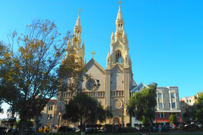 SF on Tap - St Peter and Paul church