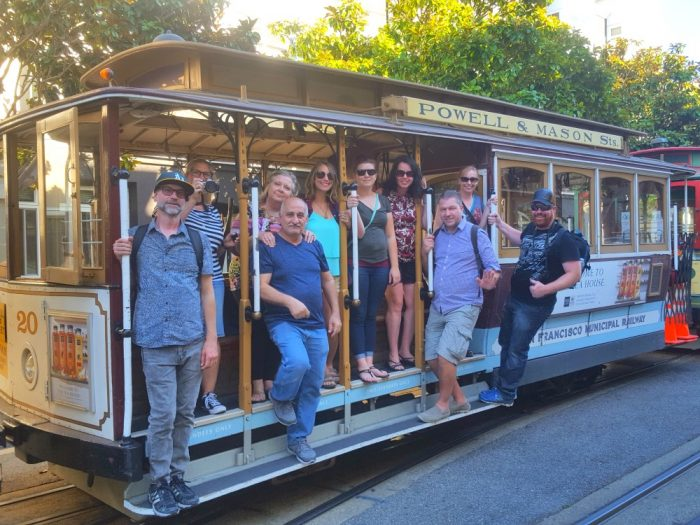 SF on Tour - cable car