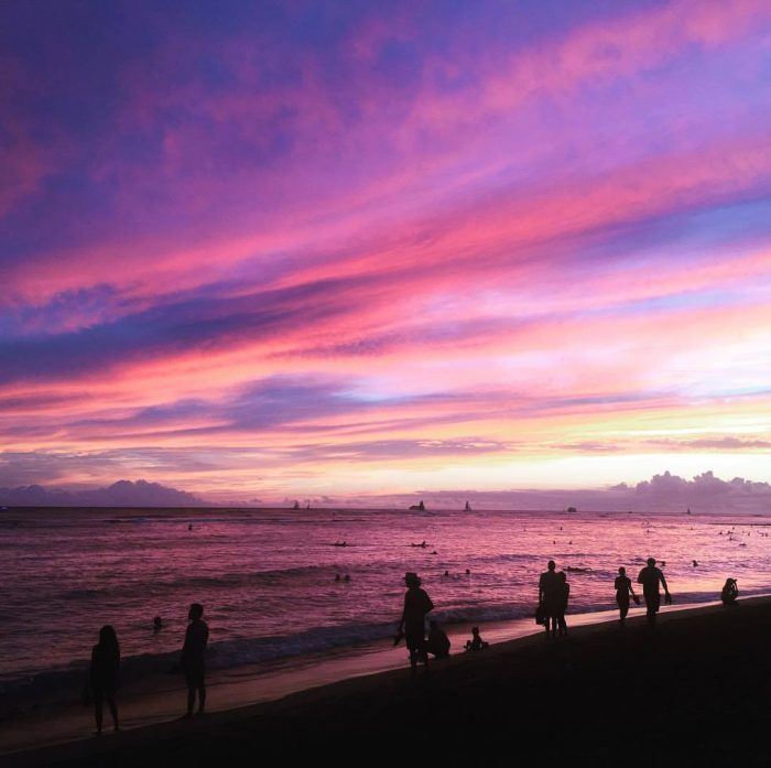10 things for couples to do in Waikiki - sunset