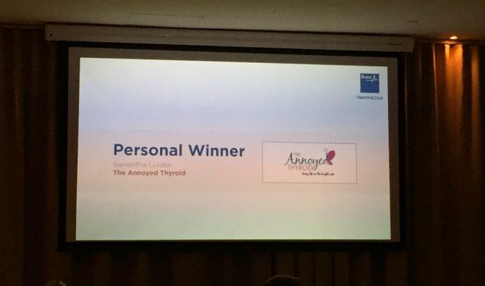 Bupa Blog Awards 1