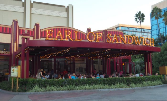 8 places to eat in Downtown Disney - Earl of Sandwich