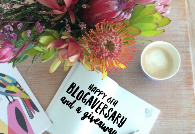 Happy 6th Blogaversary and a Giveaway!