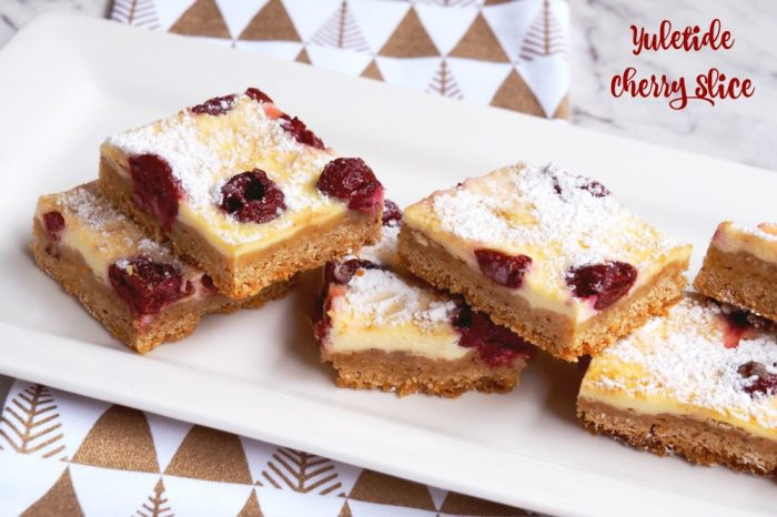 yuletide cherry slice 1