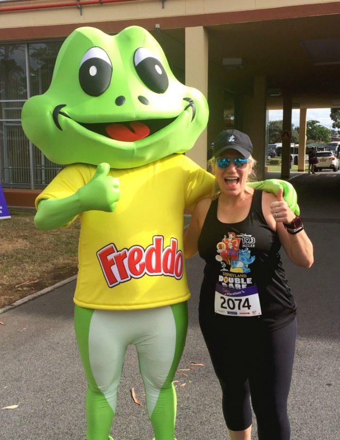 48 hours in Hobart - Cadbury Marathon Freddo