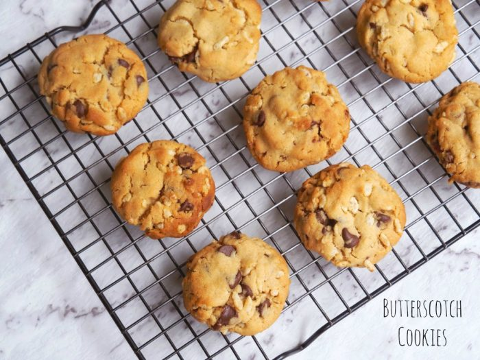 Butterscotch Cookies 1
