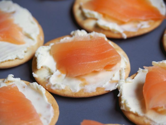 Smoked Salmon Canapes 3
