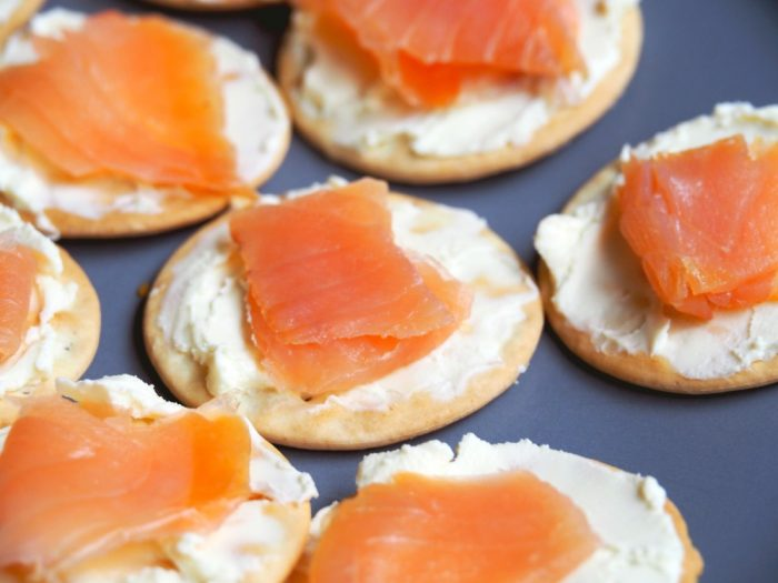 Smoked Salmon Canapes 2