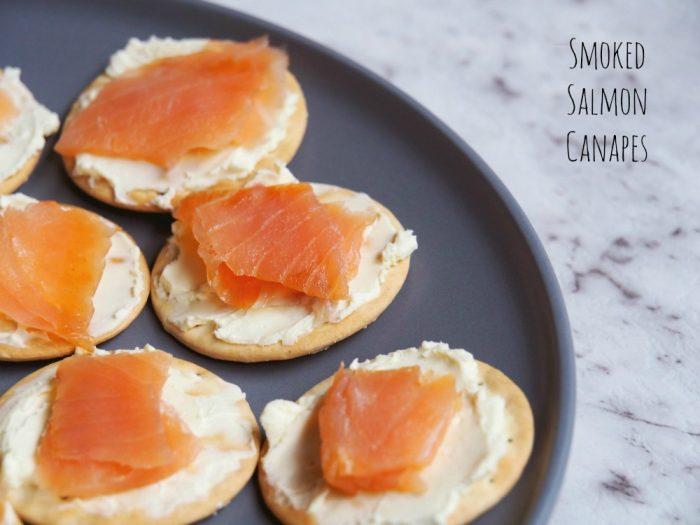 Smoked Salmon Canapes 1