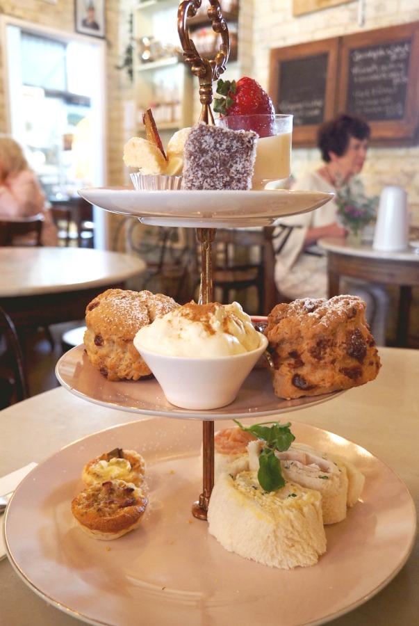 A weekend in Kangaroo Valley - Afternoon Tea Dirty Jane's
