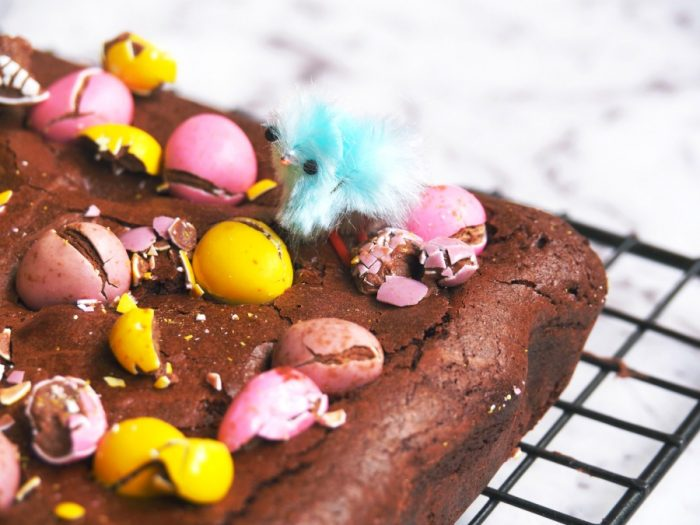 Salted Caramel and Mini Egg Brownies 3