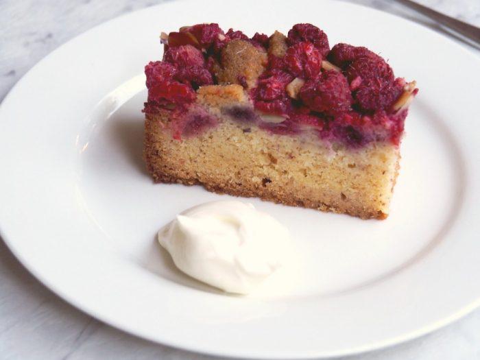 Mixed Berry and Almond Traybake 5
