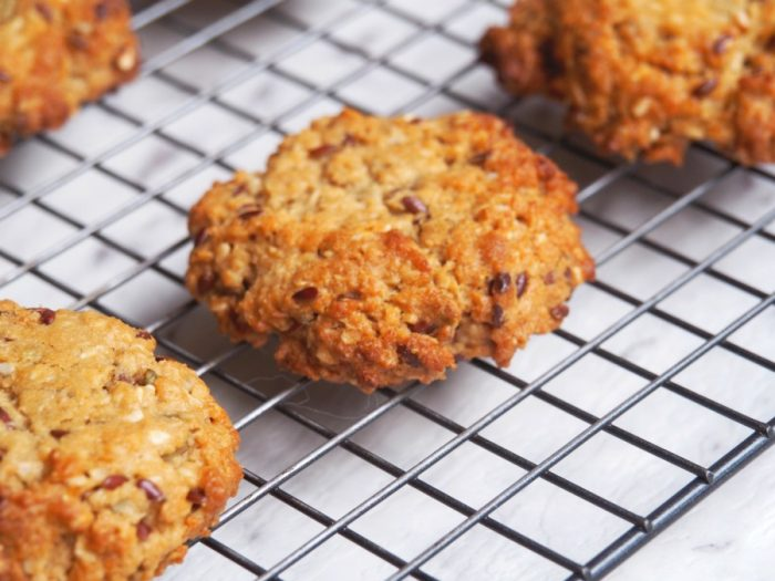 Seeded Anzac Biscuits 2