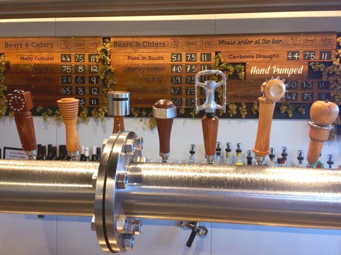 48 hours in Canberra - Bentspoke bar