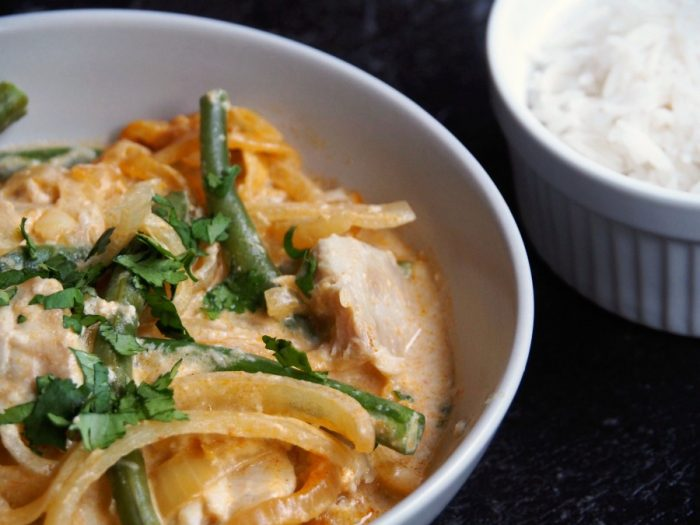 Slow cooker red thai curry 2