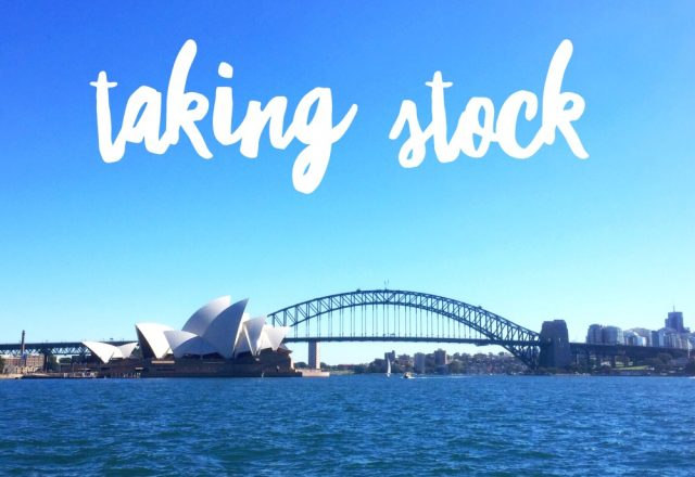 Taking Stock – May 2018