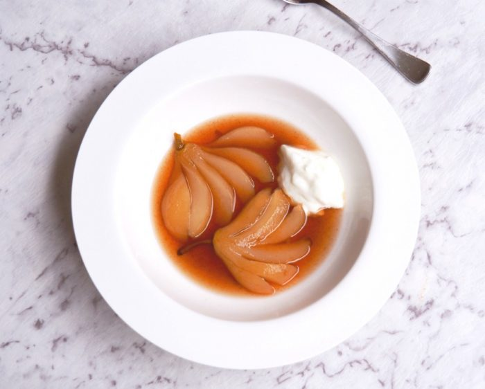 Slow cooker Blushing Pears 6
