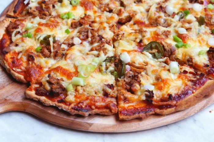 pulled pork pizza 3