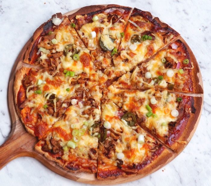 pulled pork pizza 4