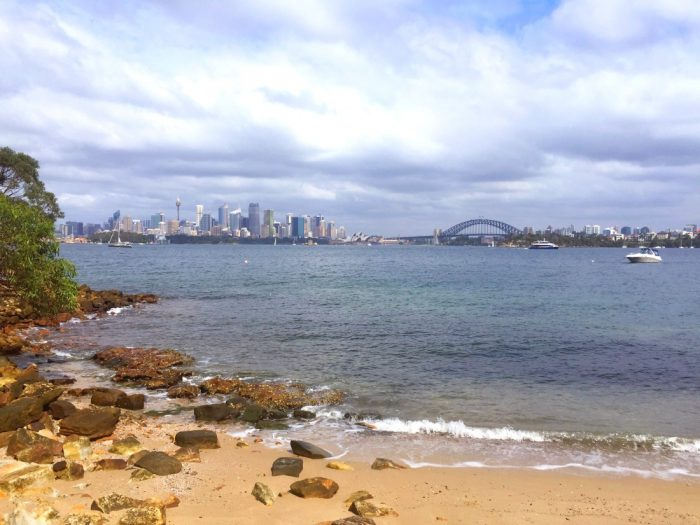 Visitors in Sydney - Taronga to Balmoral walk 2