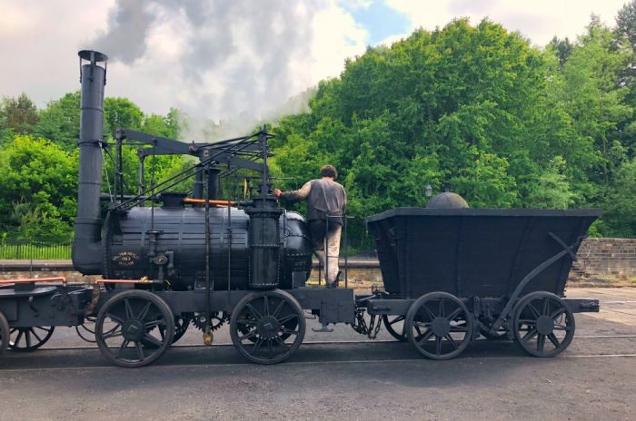 Newcastle highlights - Beamish train