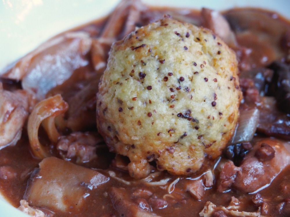 Slow Cooker Chicken and Red Wine Casserole with Dumplings 2
