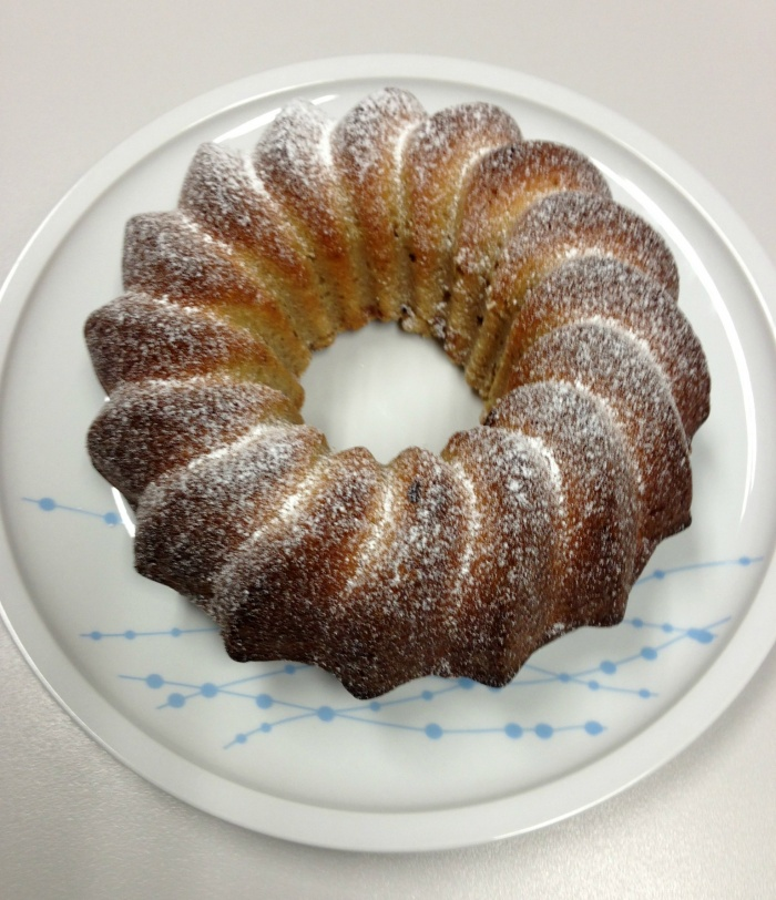Nigella's Spruced up Spiced up Vanilla Cake Thermomix
