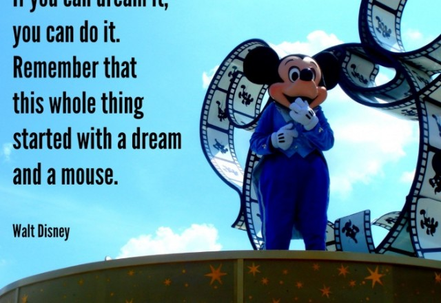 Wednesday Words of Wisdom – Walt Disney