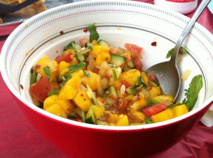 Jane's Hot Stuff - Mango Salsa