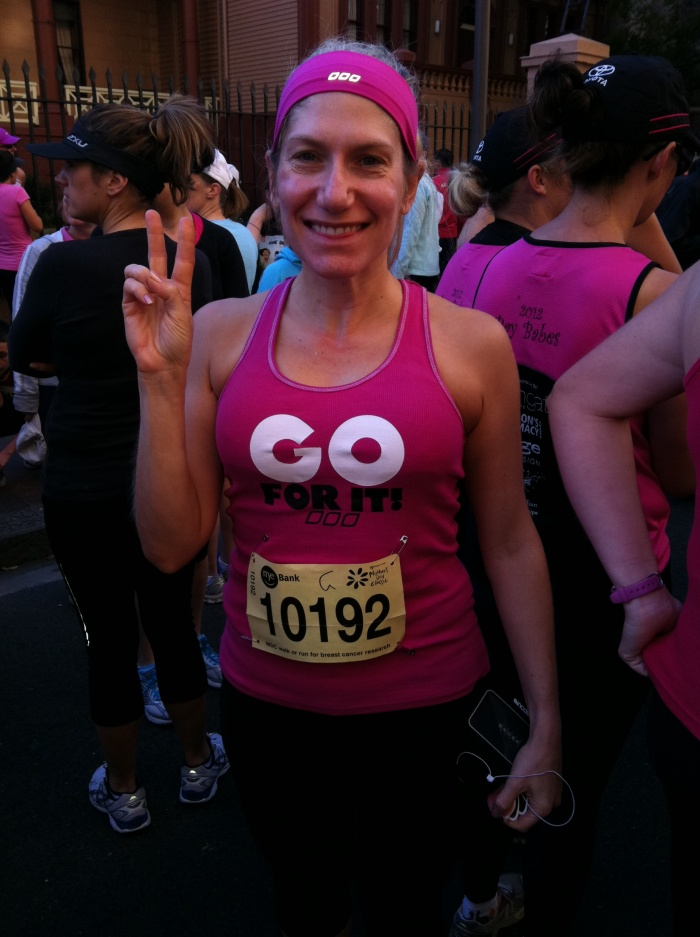 Ready to run for Breast Cancer
