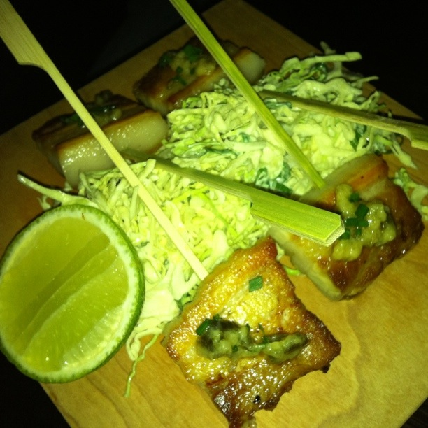 Pork Belly Skewers - Porteno