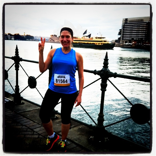 Sydney Harbour 10k - yes I can!