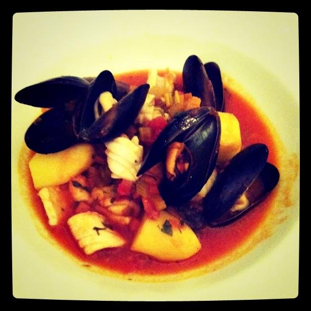 My seafood bouillabaisse; Bistro Ceello, Orange