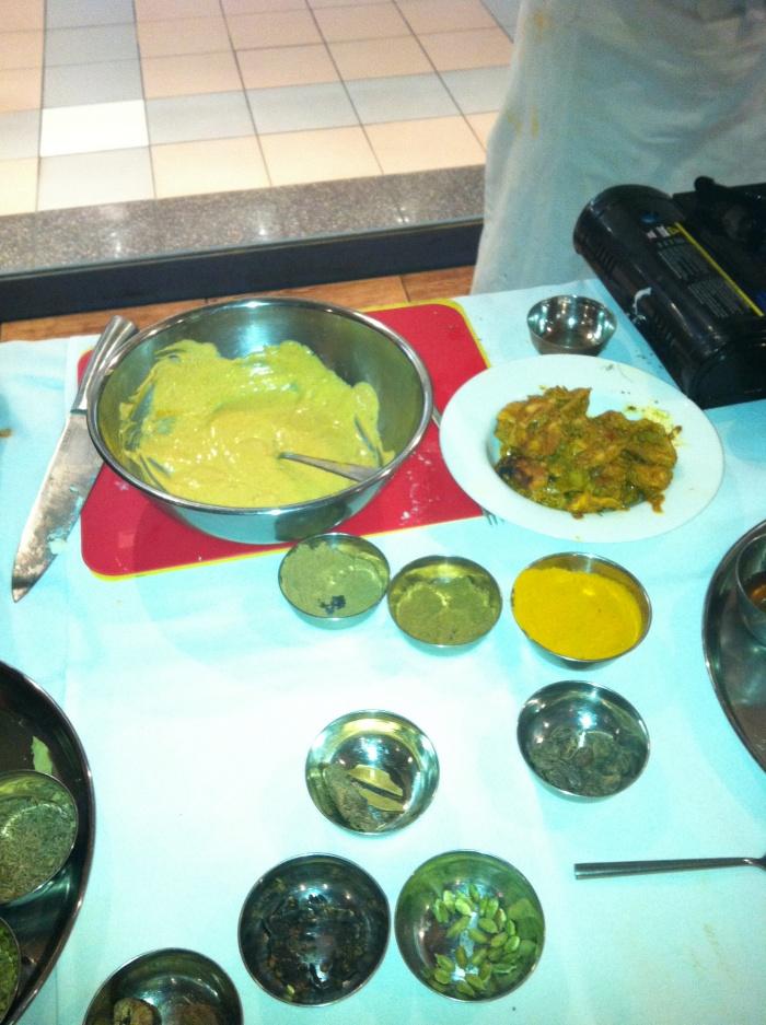 Making Butter Chicken