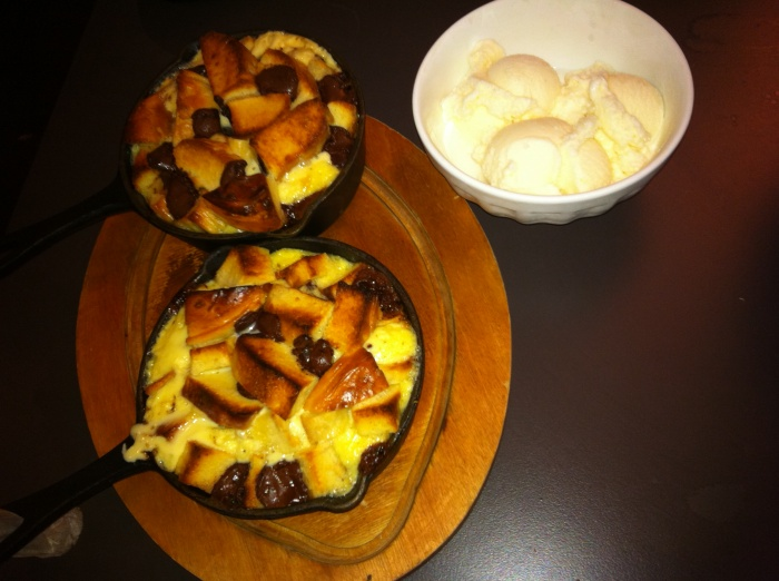 Bread Pudding, Mumu Grill