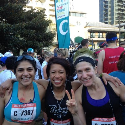 Pre Race Meet and Greet wth Kathy and Preeti - Half Marathon