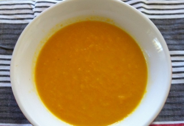 Thermomix Carrot and Coriander Simple Soup