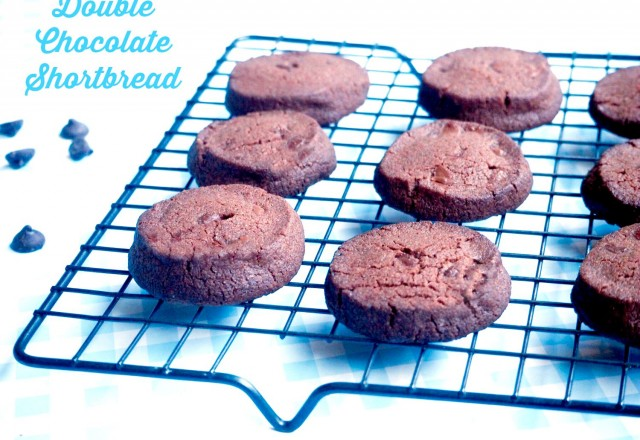 Double Chocolate Shortbread