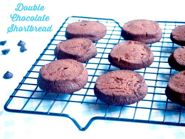 Double Chocolate Shortbread text
