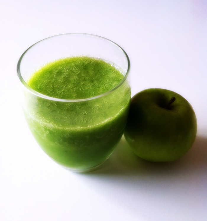 Thermomix Cucumber, Apple and Celery Juice