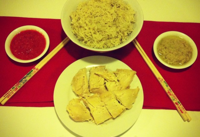 Thermomix Hainanese Chicken  Rice