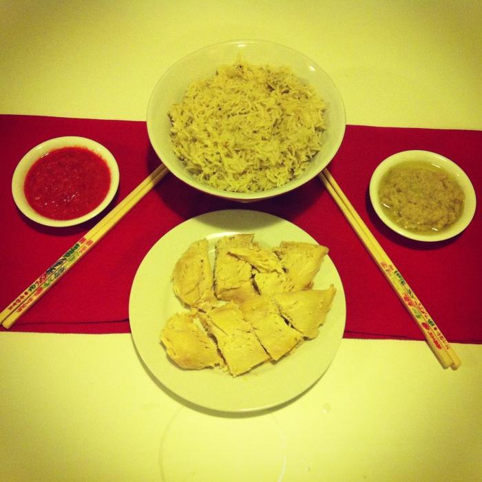 Thermomix Hainanese Chicken Rice
