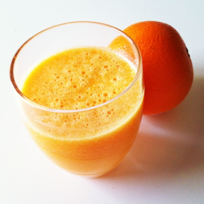 Thermomix Carrot and Orange Juice