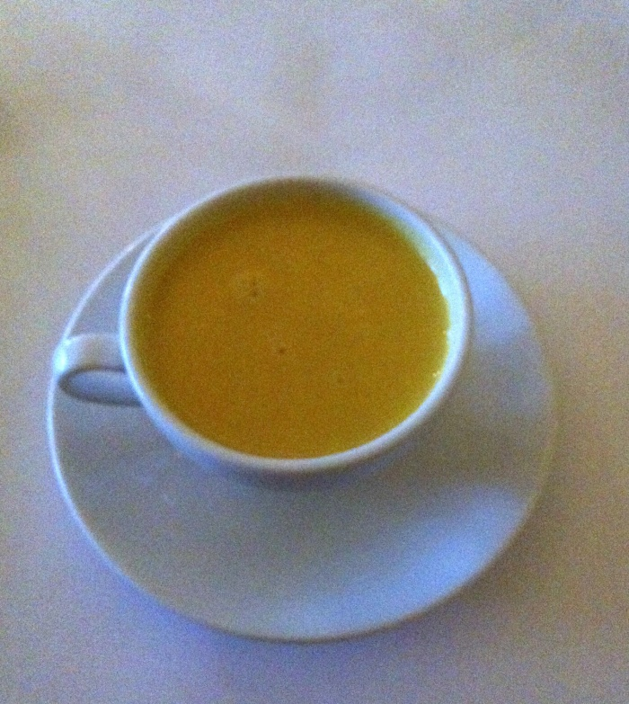 Pumpkin and Ginger Soup, Italian Feast, Alio