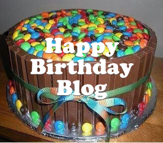 Happy Birthday Blog!