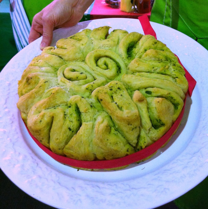 Herb and Garlic Pull Apart Bread, Festive Flavour