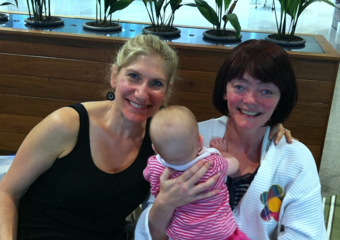 Me, Belinda and Baby!